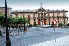 Ciudad Andalu de Jaén de las oficinas del Consejo del Condado Imagen de archivo
