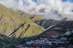 Ciudad andina Fotos de archivo libres de regalías