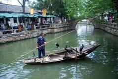 Ciudad antigua china en Tongli Imágenes de archivo libres de regalías