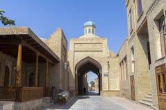 Ciudad antigua de Bukhara en Uzbekistán Fotos de archivo libres de regalías