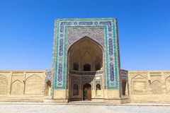 Ciudad antigua de Bukhara en Uzbekistán Fotografía de archivo libre de regalías