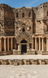 Ciudad antigua de Busra al-Sham  Fotografía de archivo libre de regalías