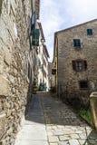 Ciudad antigua de Cortona Toscana fotografía de archivo libre de regalías