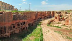 Ciudad antigua de Dara en Mesopotamia, Mardin imagenes de archivo