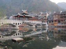 Ciudad antigua de Fenghuang Fotos de archivo