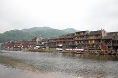 Ciudad antigua de Fenghuang en China Fotografía de archivo