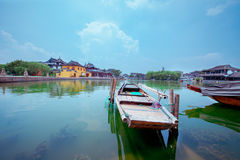Ciudad antigua de Jinxi de China Fotos de archivo libres de regalías