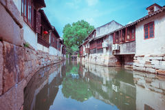 Ciudad antigua de Jinxi de China Imagen de archivo libre de regalías
