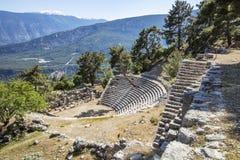 Ciudad antigua de Lycian de Arykanda Descripción del complejo del gimnasio imagen de archivo libre de regalías