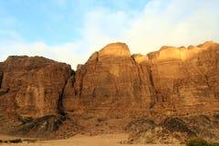Ciudad antigua de Petra Built en Jordania Imagen de archivo libre de regalías