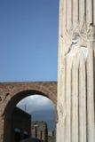 Ciudad antigua de Pompeya Fotos de archivo libres de regalías