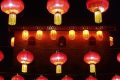 Ciudad antigua de Qinglong Foto de archivo