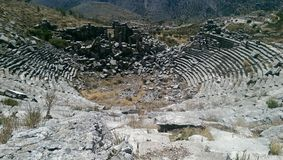 Ciudad antigua de Sagalassos Imagen de archivo