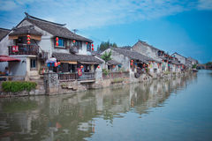 Ciudad antigua de Shangai Fengjin de China Fotos de archivo