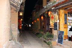 Ciudad antigua, ciudad antigua de Shaxi con más 2400 años de historia del ` imágenes de archivo libres de regalías