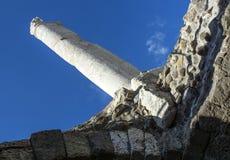 Ciudad antigua del ágora de Esmirna Fotos de archivo libres de regalías