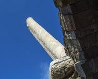 Ciudad antigua del ágora de Esmirna Foto de archivo libre de regalías