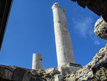 Ciudad antigua del ágora de Esmirna Fotografía de archivo