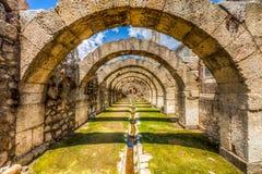 Ciudad antigua del ágora, Esmirna Imagen de archivo