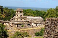 Ciudad antigua del maya de Palenque V imagen de archivo libre de regalías