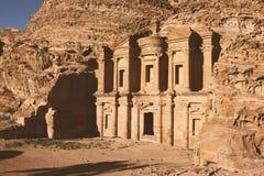 Ciudad antigua del Petra Fotografía de archivo