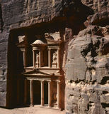 Ciudad antigua del Petra, Jordania Imagen de archivo