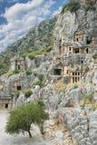 Ciudad antigua Demre en Turquía Fotografía de archivo libre de regalías
