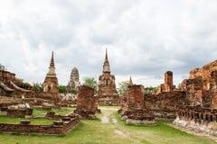 Ciudad antigua en la provincia de Ayutthaya, Tailandia Fotos de archivo libres de regalías