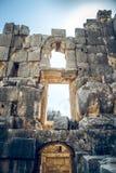 Ciudad antigua en Myra Demre Turkey Fotos de archivo libres de regalías