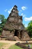 Ciudad antigua en Polonnaruwa, Srí Lanka foto de archivo