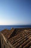 Ciudad antigua hermosa Monemvasia, Grecia Fotografía de archivo libre de regalías
