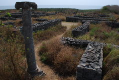 Ciudad antigua Histria Imágenes de archivo libres de regalías