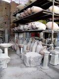 Ciudad antigua Italia de Pompeya imagen de archivo libre de regalías