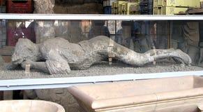 Ciudad antigua Italia de Pompeya Foto de archivo libre de regalías