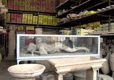 Ciudad antigua Italia de Pompeya Fotografía de archivo