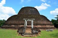 Ciudad antigua Polonnaruwa, Srí Lanka fotos de archivo