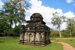 Ciudad antigua Polonnaruwa, Srí Lanka fotografía de archivo