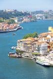 Ciudad antigua Portugal de Oporto Imagen de archivo