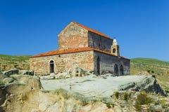 Ciudad antigua Uplistsikhe, región de la cueva de Georgia Caucasian Imagenes de archivo