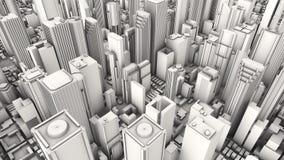 Ciudad aérea Fotos de archivo
