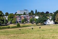 Ciudad Arnhem del horizonte en los Países Bajos Foto de archivo libre de regalías