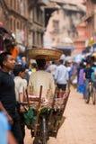 Ciudad asiática colorida Imagen de archivo libre de regalías