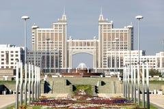 Ciudad Astana, el ministerio del gas y del petróleo Imagenes de archivo