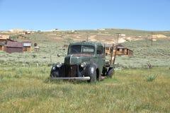 Ciudad automotriz abandonada de Bodie Ghost - California Foto de archivo libre de regalías