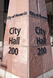 Ciudad ayuntamiento Phoenix Foto de archivo