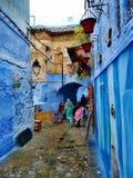 Ciudad azul imagen de archivo libre de regalías