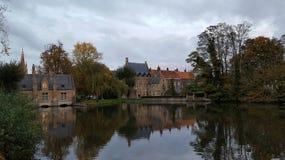 Ciudad Bélgica de Brujas Imágenes de archivo libres de regalías