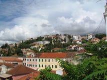 Ciudad balcánica Fotos de archivo libres de regalías