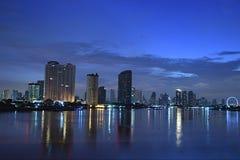 Ciudad Bangkok Imagen de archivo libre de regalías