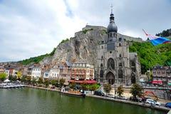 Ciudad belga Namur Imagen de archivo libre de regalías